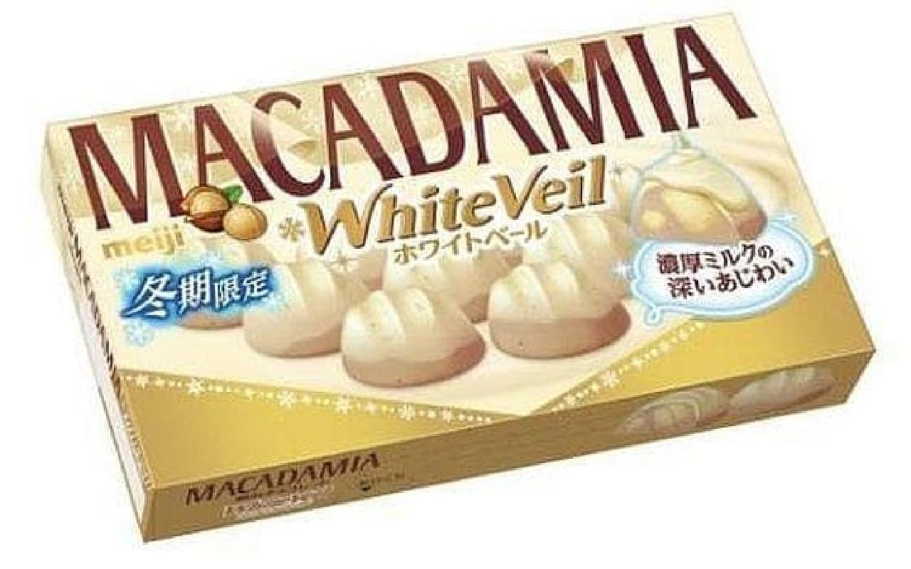 マカダミアチョコレートホワイトベール