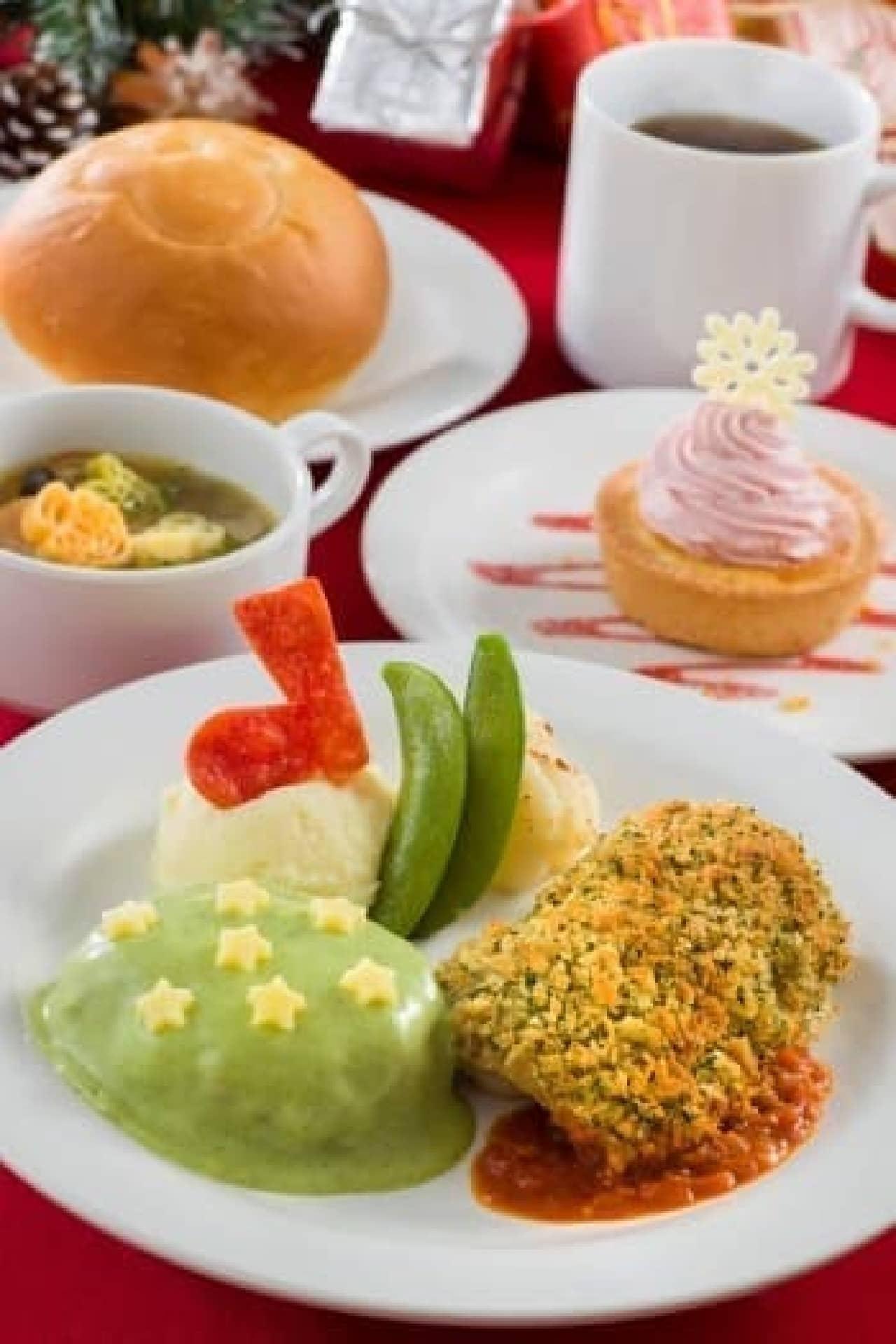 「プラザパビリオン・レストラン」のスペシャルセット