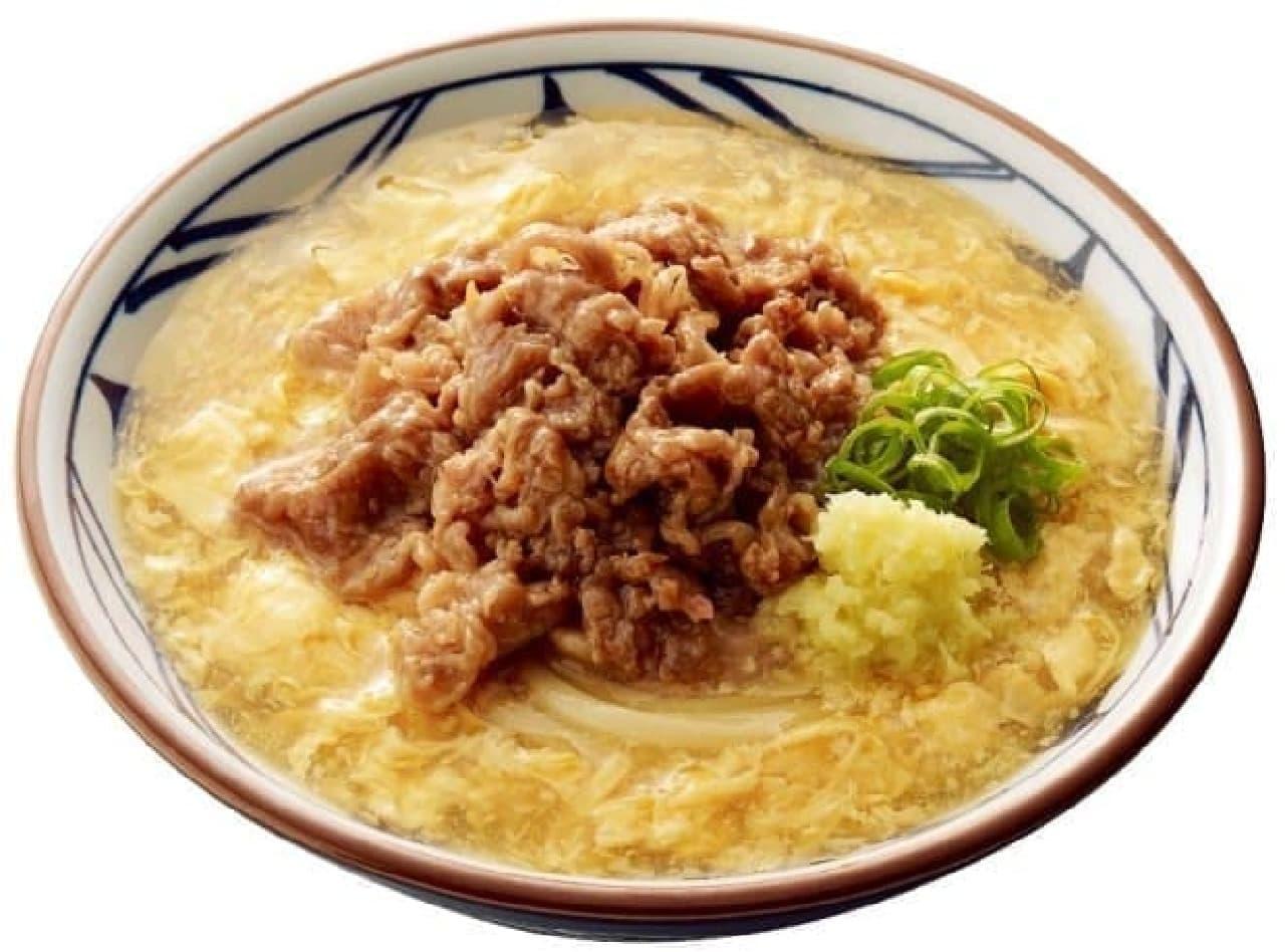 丸亀製麺「肉たまあんかけ」