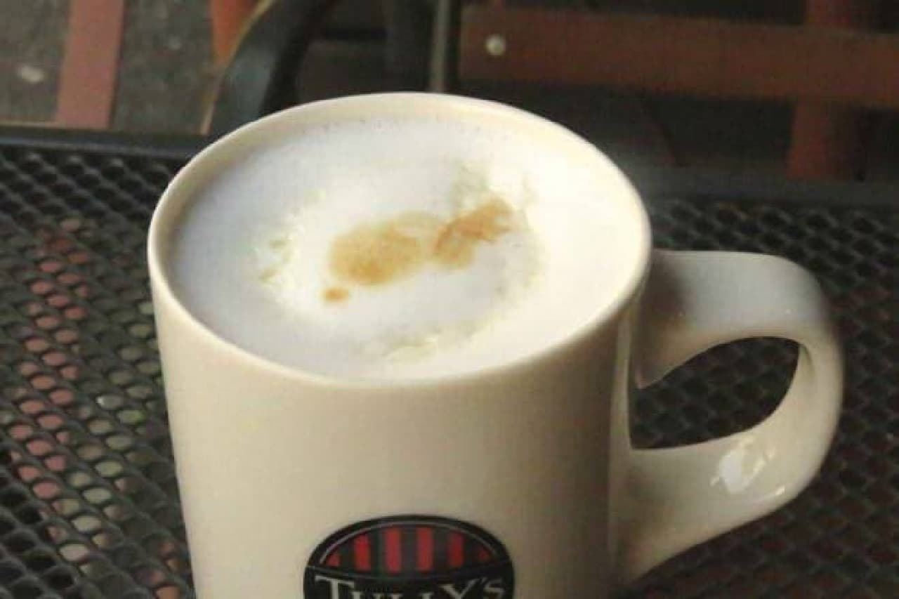タリーズコーヒー ハニーミルクラテ