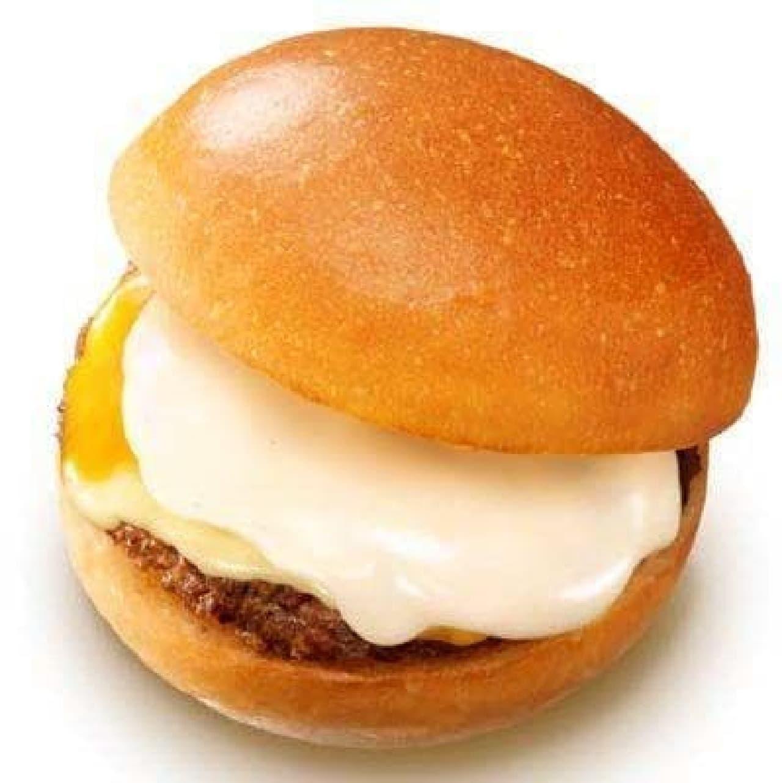 ロッテリア「チーズフォンデュ仕立ての絶品チーズバーガー」