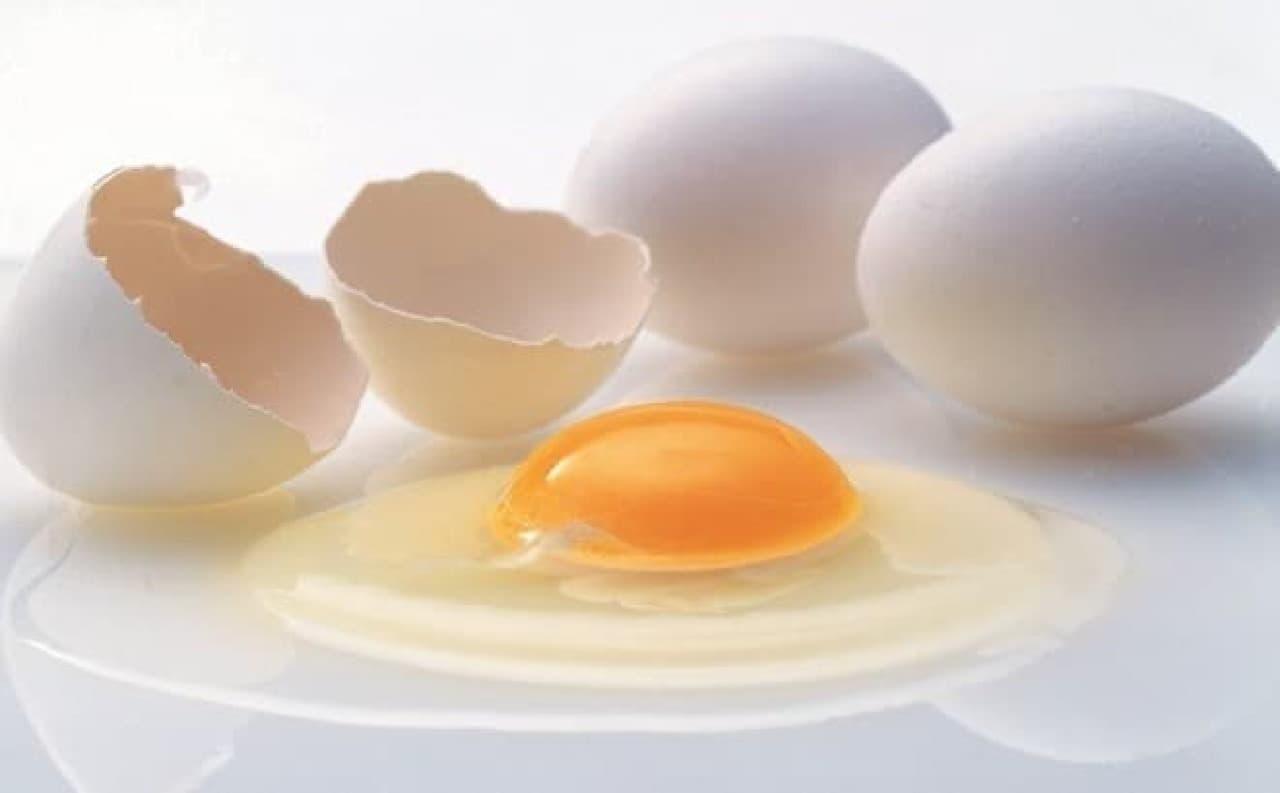 シャトレーゼ「うみたて卵のカスタードシュークリーム」 こだわりのオリジナル卵