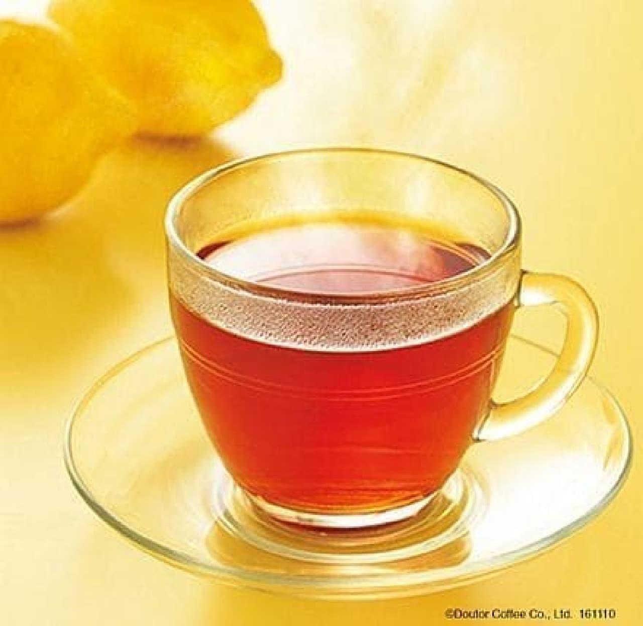 ドトールコーヒー「ハーブティー ルイボス&レモン」