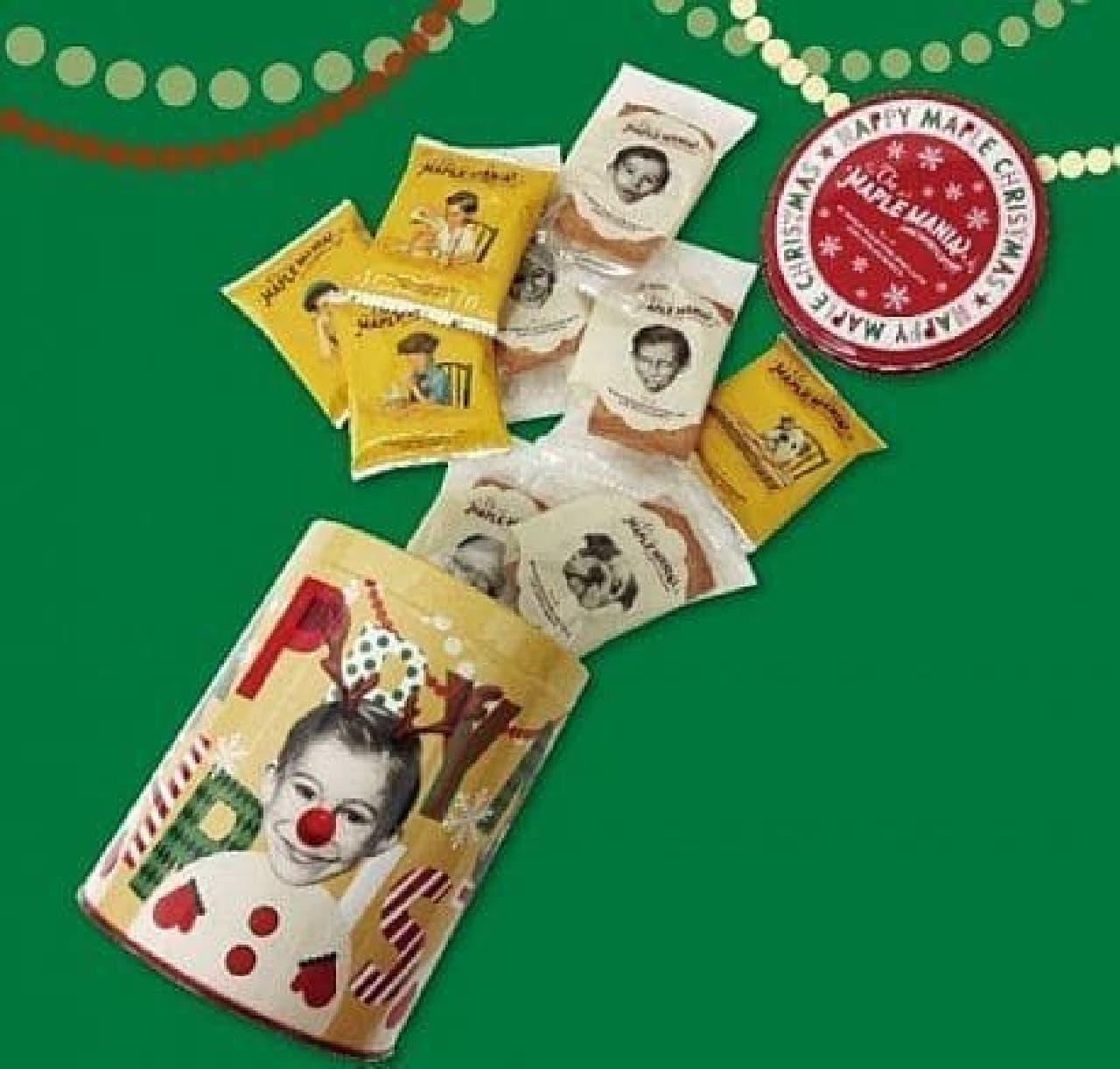ザ・メープルマニア「メープルクリスマス缶」