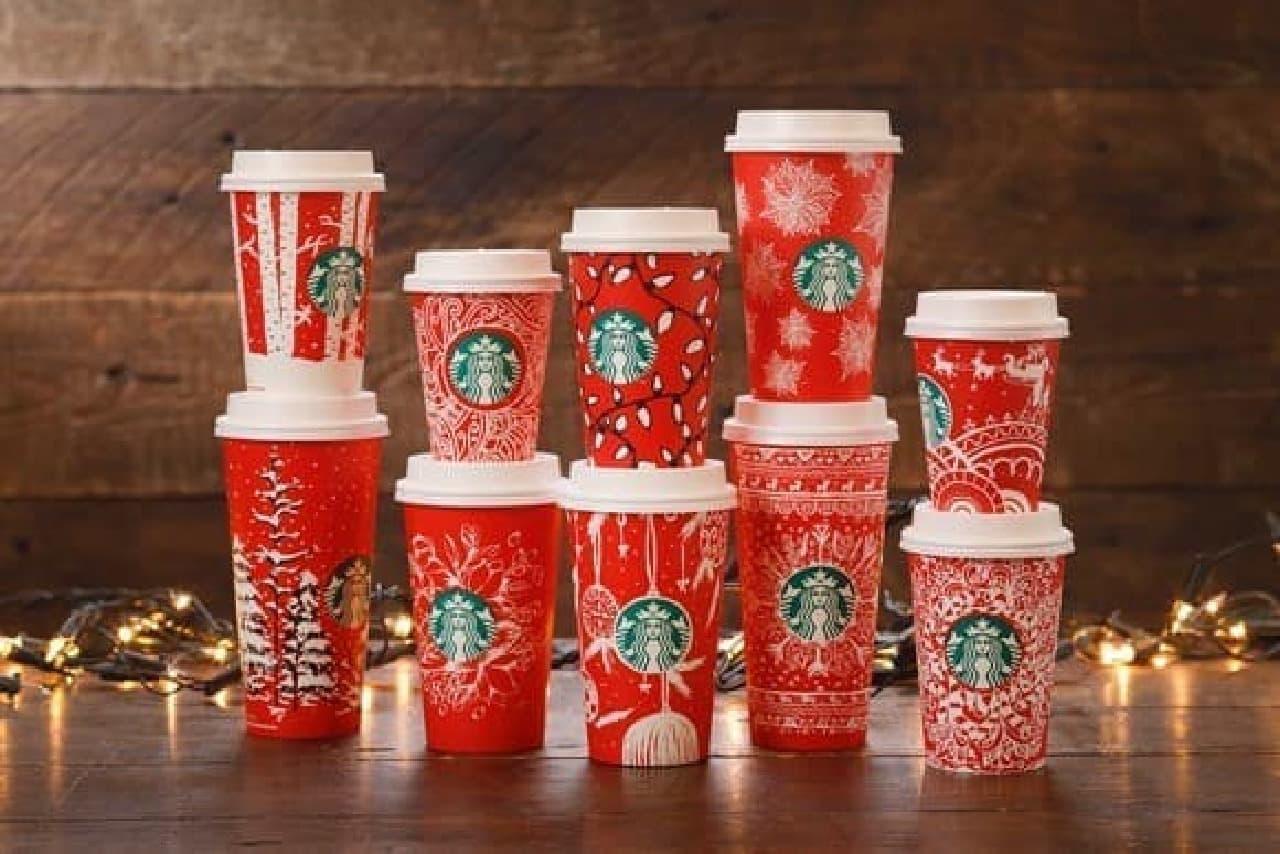 """スターバックス コーヒー""""Starbucks Red Holiday Cups"""""""