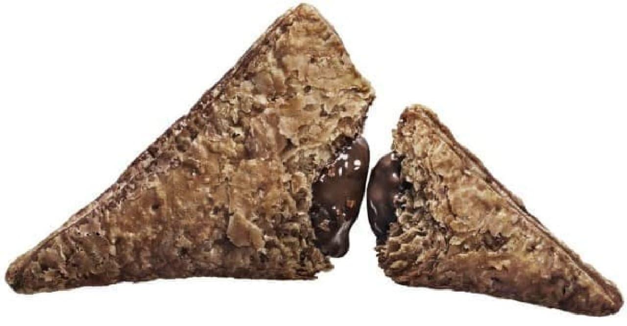 マクドナルド「三角チョコパイ 黒」