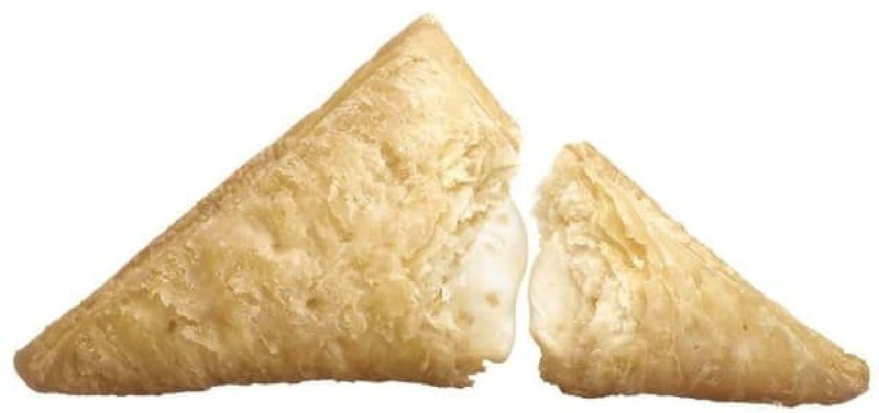 マクドナルド「三角チョコパイ 白」