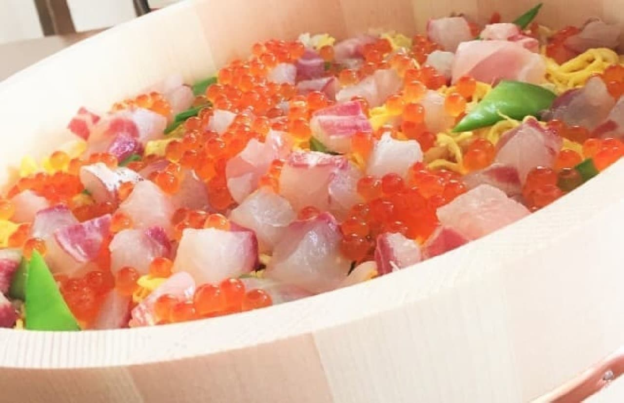 ちらし寿司 イメージ