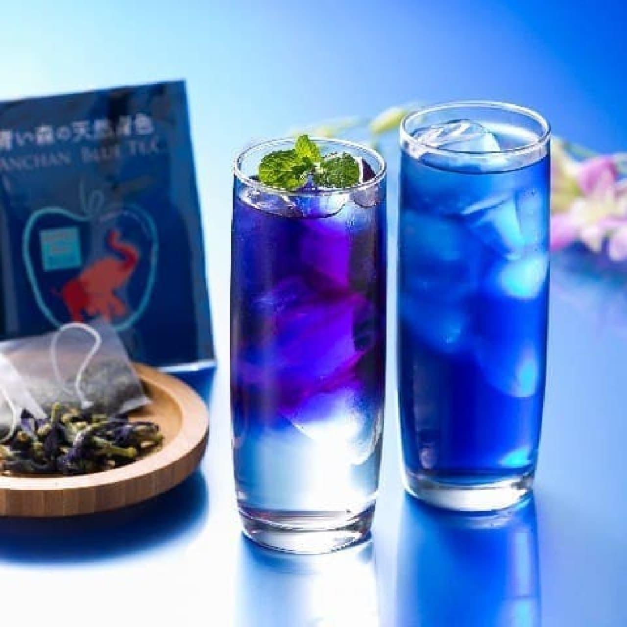 ヴィレッジヴァンガードオンライン「青い森の天然青色アンチャンブルーティー(ティーバッグタイプ)」
