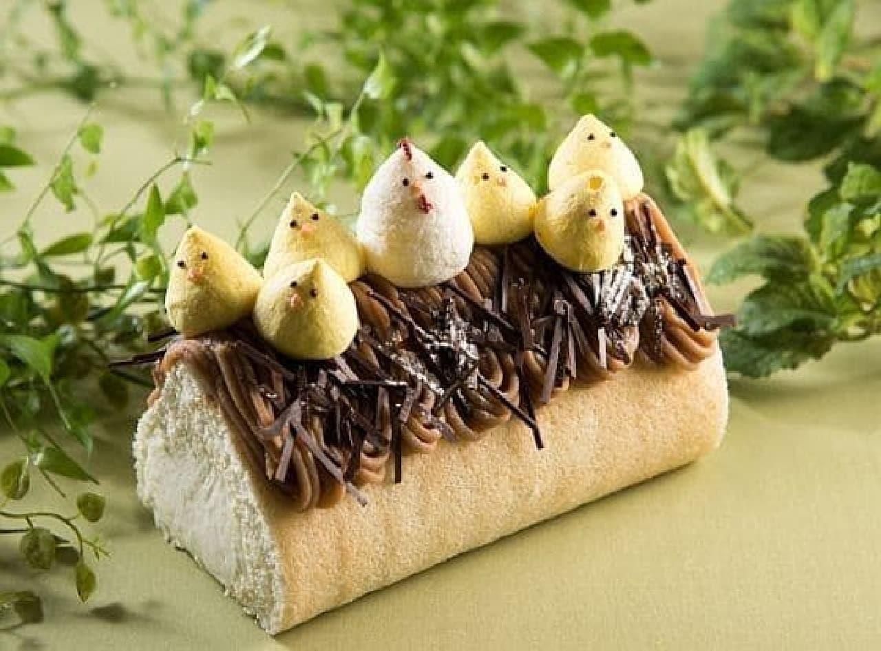 リーガロイヤル東京「幸せ『とり』こむ!ロールケーキ」