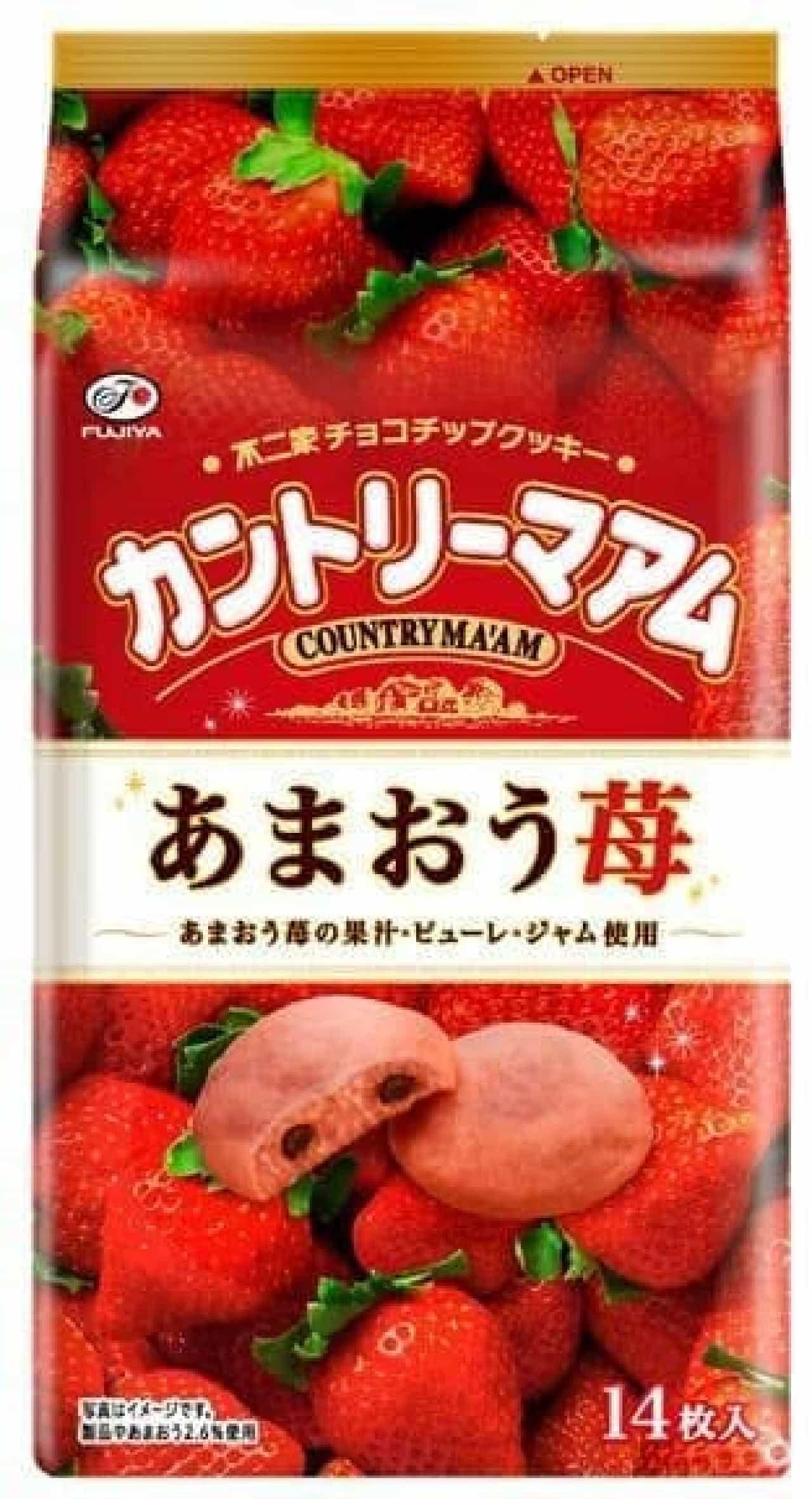 カントリーマアム(あまおう苺)