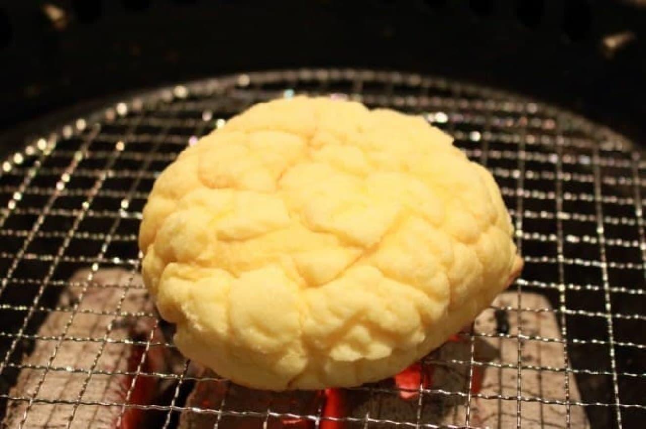 牛角メロンパンアイス