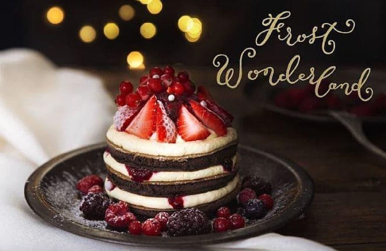J.S. PANCAKE CAFE「苺とマスカルポーネのフローズンパンケーキ」