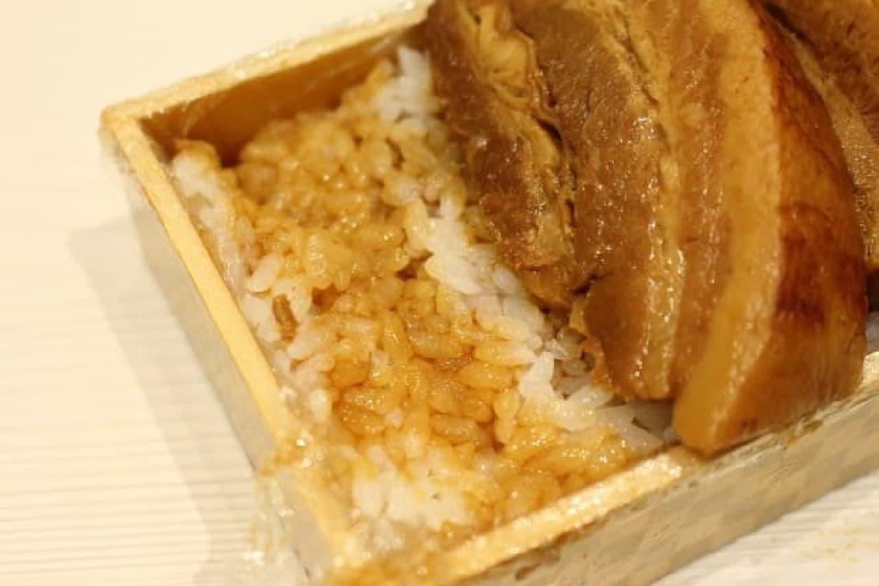 麺屋武蔵厨「一本角煮寿司」