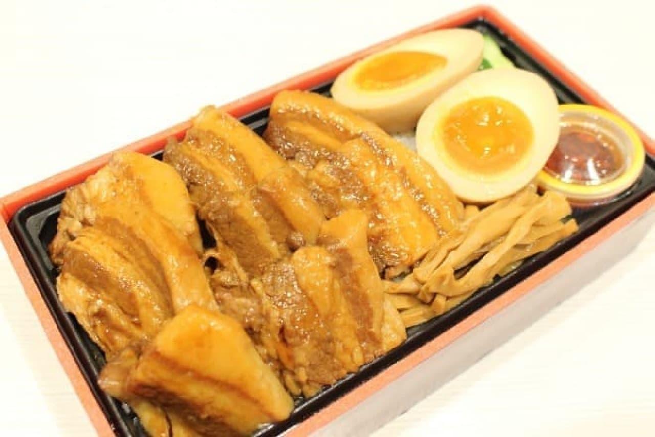 麺屋武蔵厨「角煮弁当」