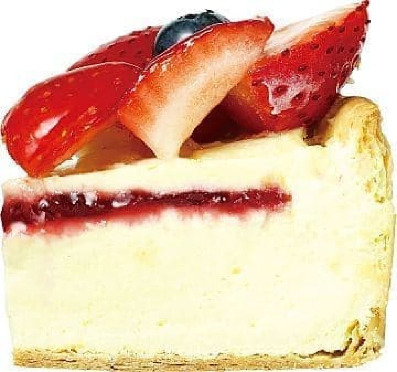 パブロ「たっぷりいちごのチーズタルト」