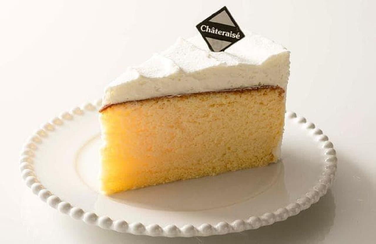シャトレーゼ「クリームスフレチーズケーキ」