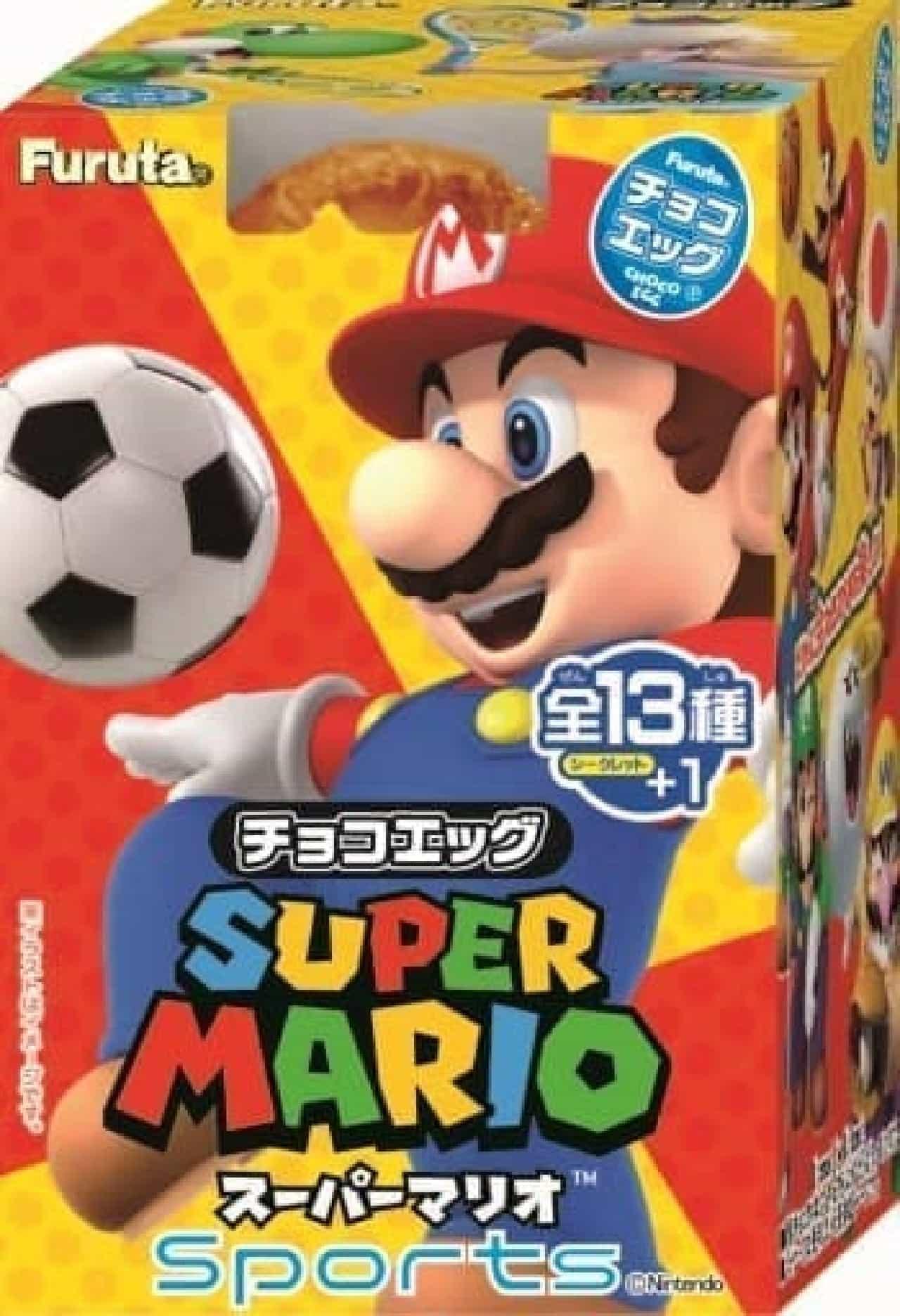 フルタ製菓「チョコエッグ スーパーマリオ スポーツ」