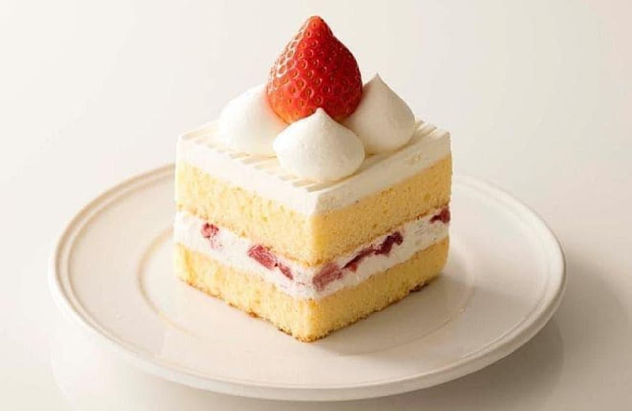 シャトレーゼ「苺のショートケーキ」