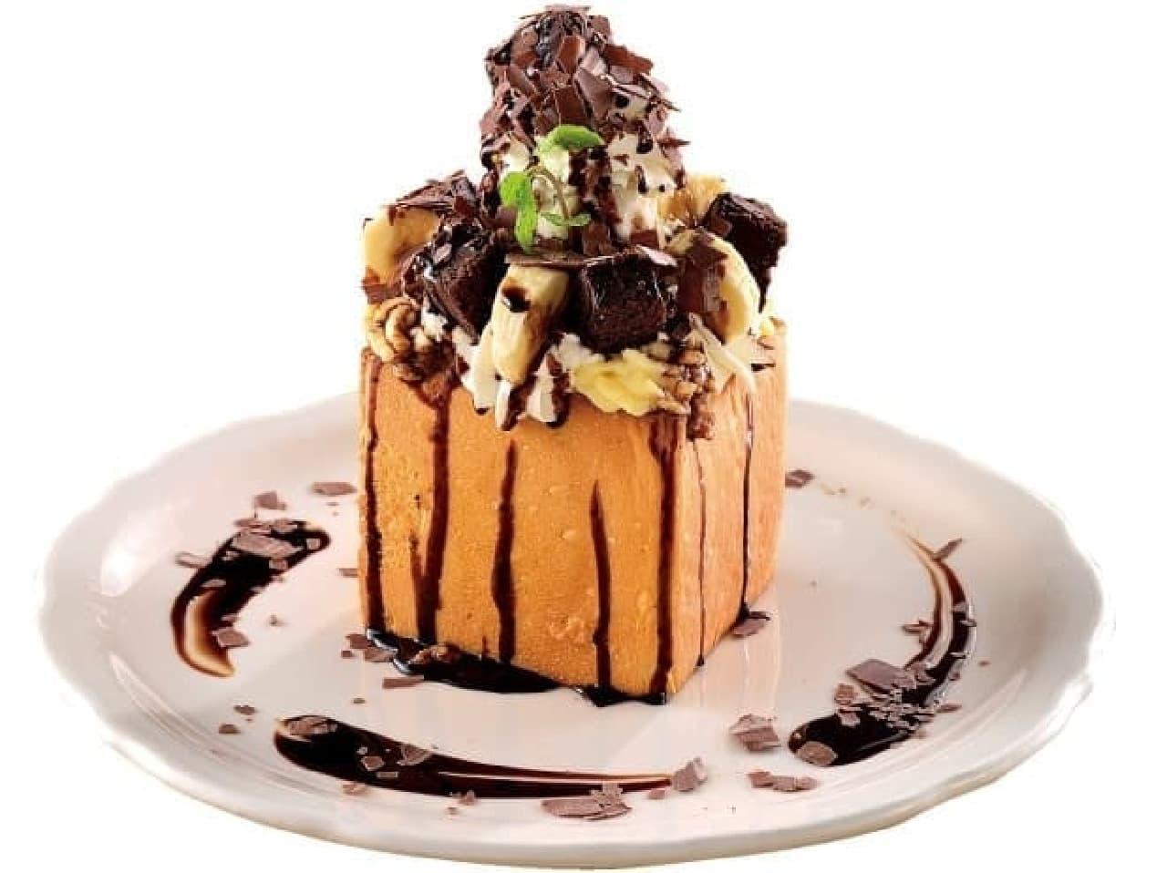 オリジナルパンケーキハウス ハニーフレンチトースト「クラシックショコラ」