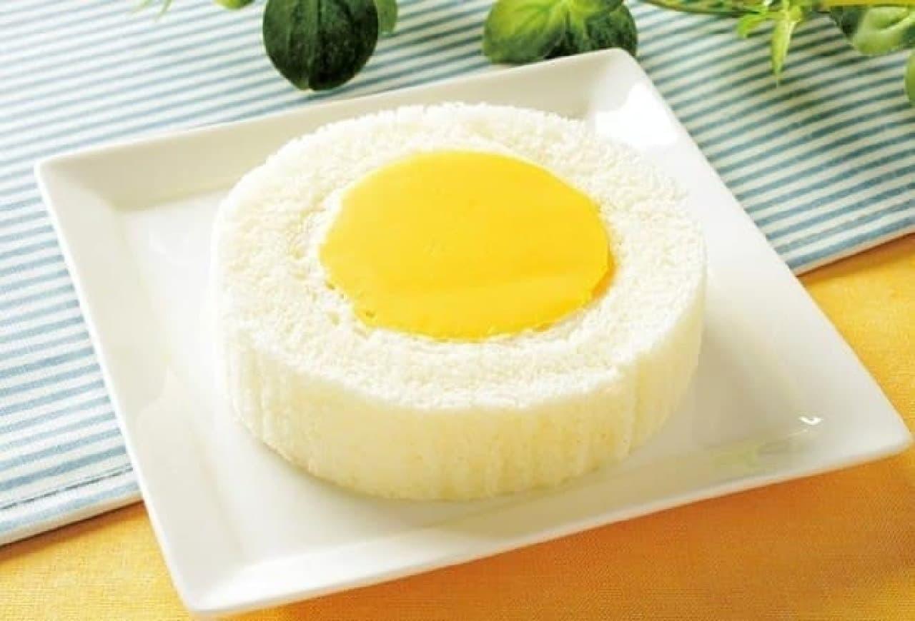 ローソン「プレミアム きよら卵のプリンロールケーキ」