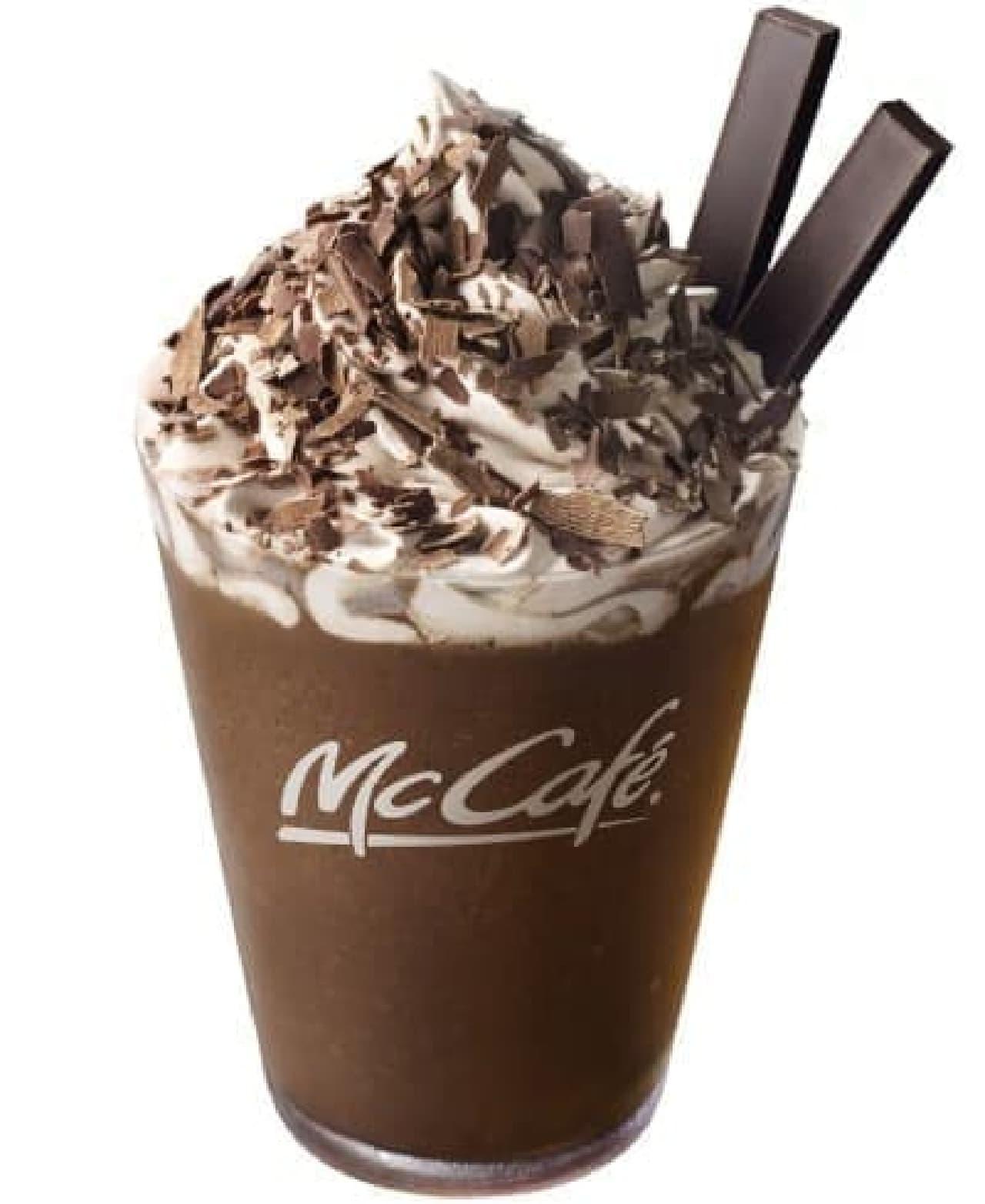 McCafe by Barista「プレミアムチョコレートフラッペ」