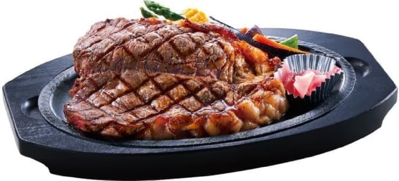 伝説のステーキ屋「サーロインステーキ」