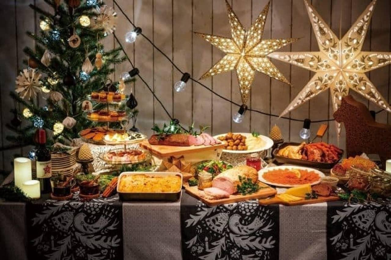 イケア、クリスマスディナービュッフェ「ユールボード」2016