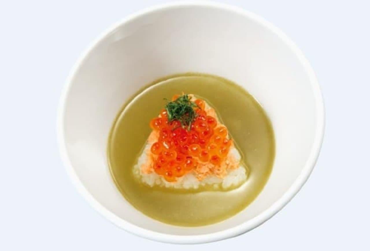 かっぱ寿司「鮮極鮭いくらのかっぱ茶漬け」