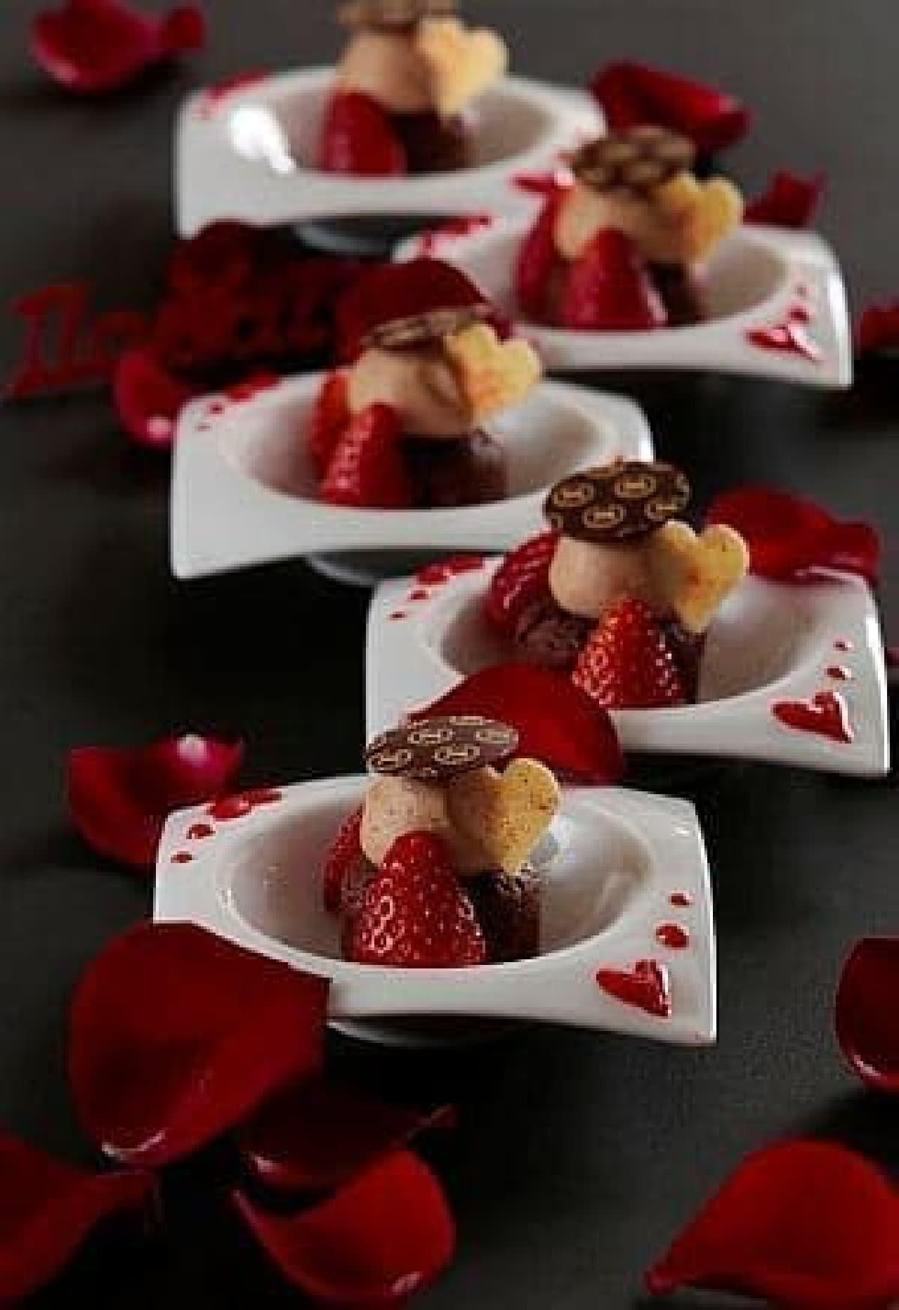 横浜ベイシェラトン ホテル&タワーズのスイーツブッフェ「Sweets Parade ~LOVE~」