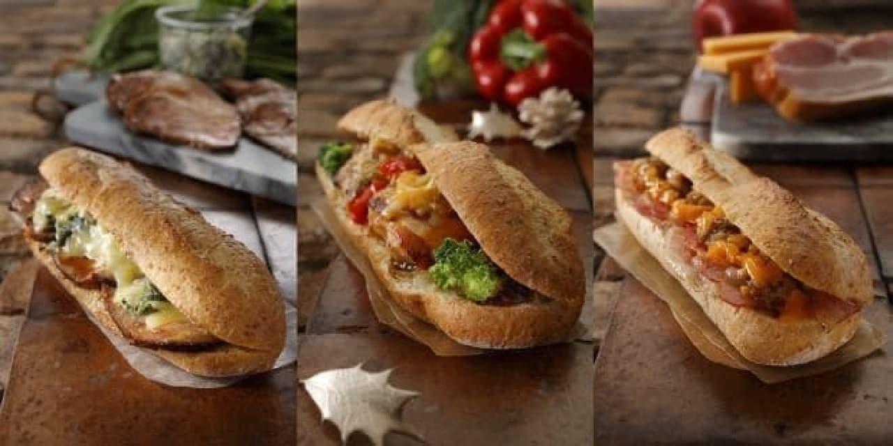 スターバックス 石窯フィローネのサンドイッチ