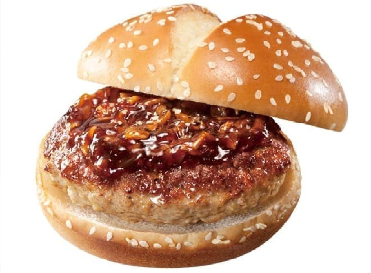 ミニストップ「いきなり!ステーキ監修 ワイルドビーフハンバーガー」