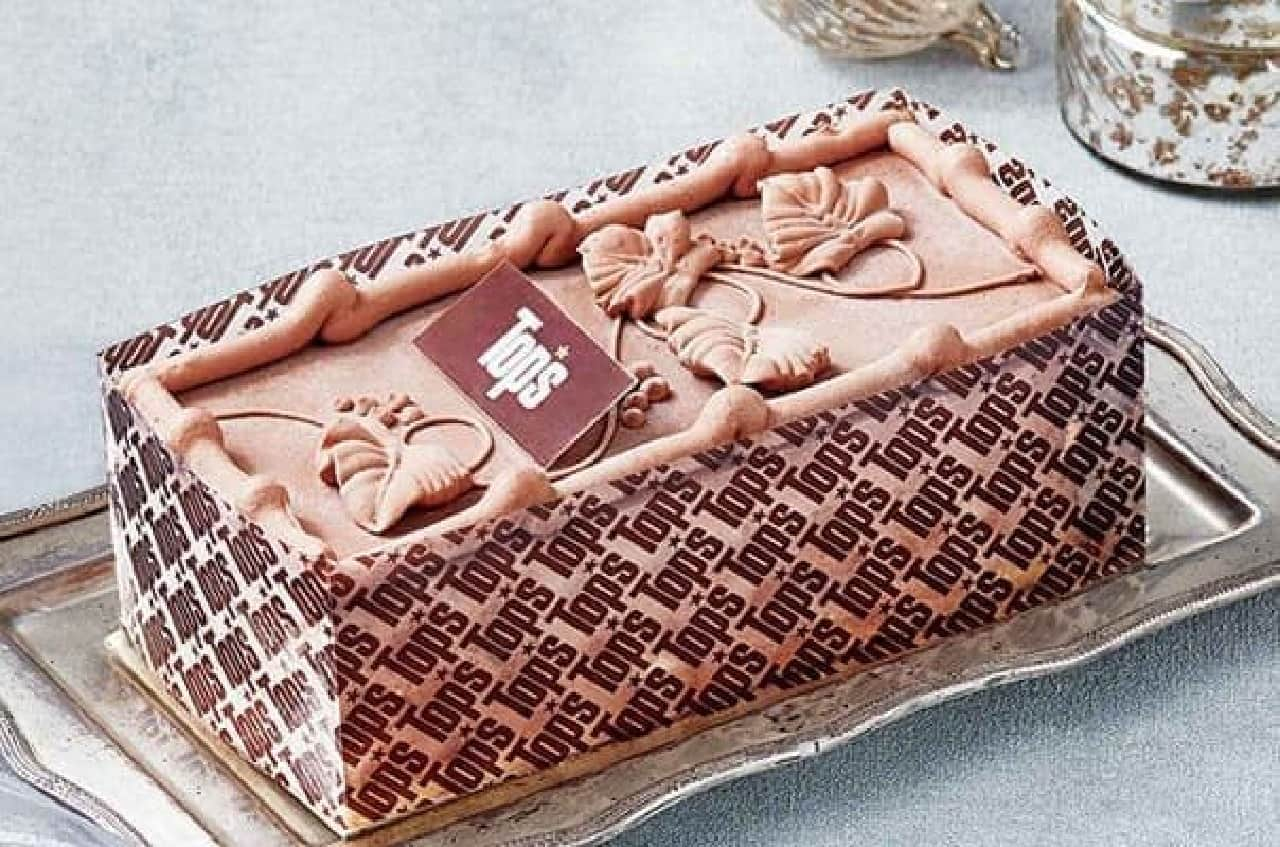 セブン限定「トップス チョコレートアイスケーキ」