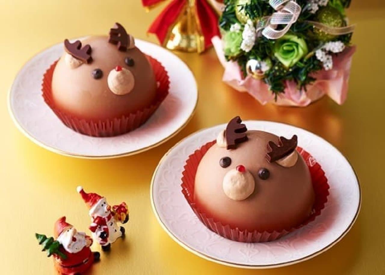 セブン トナカイのチョコムースケーキ