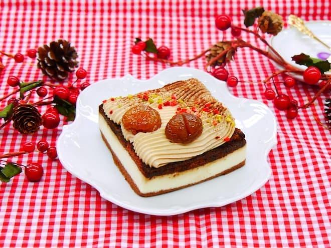 イオンのクリスマスケーキ2016 スプーマ・ディ・カスターニャ