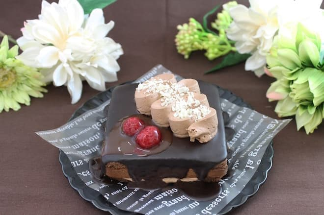 イオンのクリスマスケーキ2016 プレミアムチョコケーキ