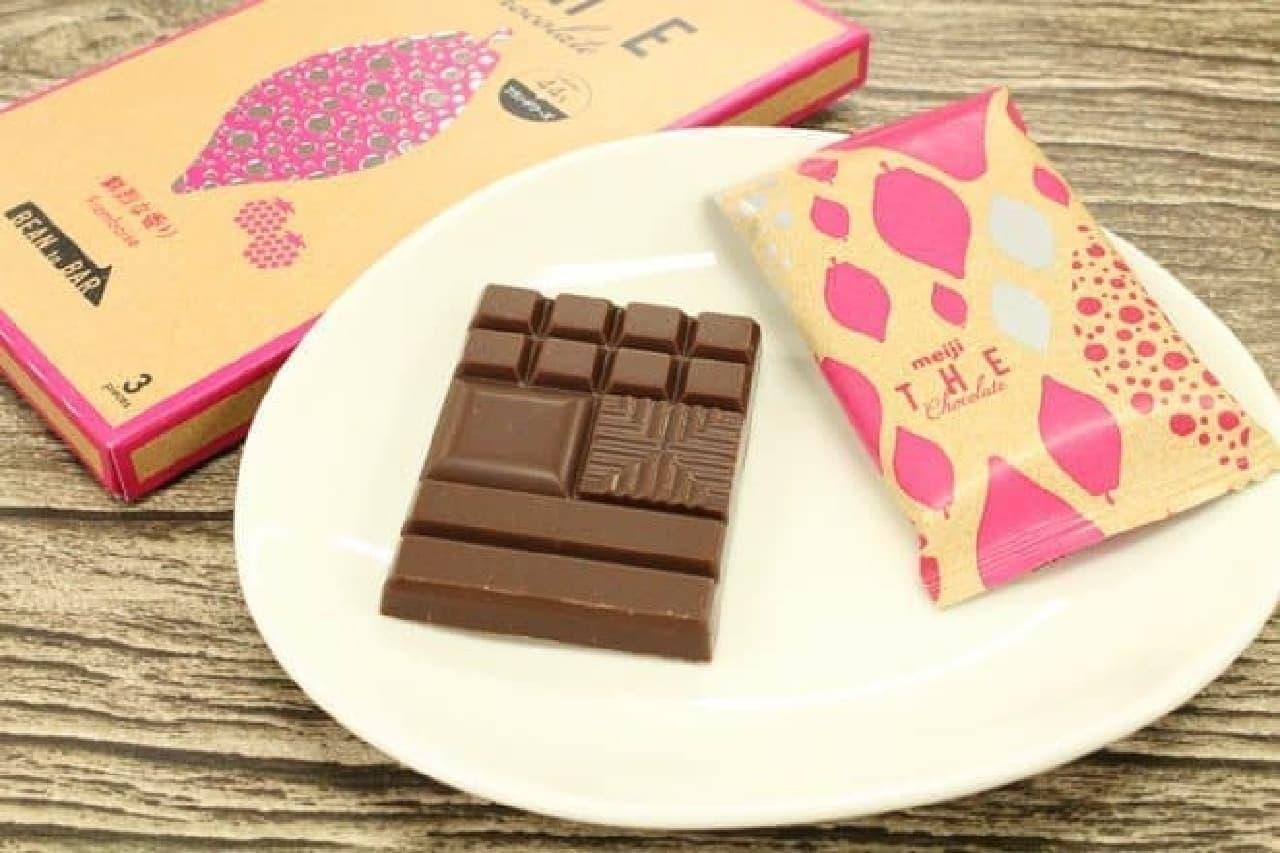 明治ザ・チョコレート「鮮烈な香りフランボワーズ」