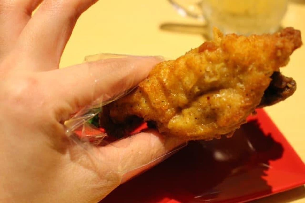 KFC「フィンガーナップ」