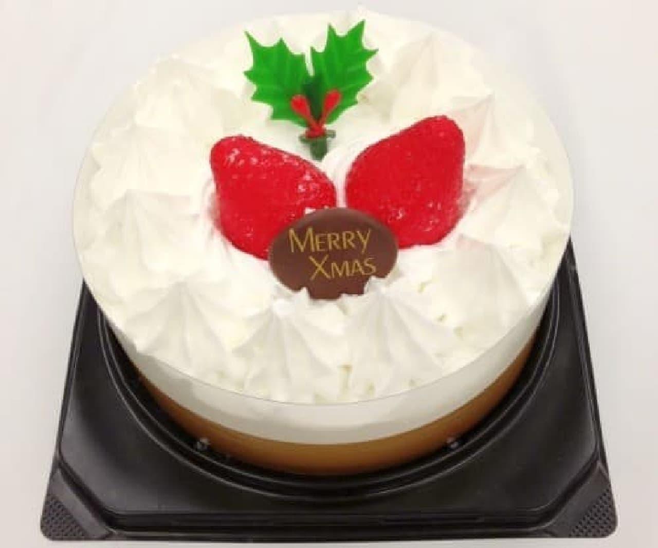 ミニストップ「クリスマスホワイトケーキ」