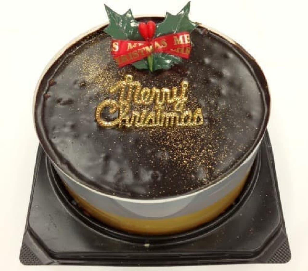 ミニストップ「クリスマスチョコケーキ」
