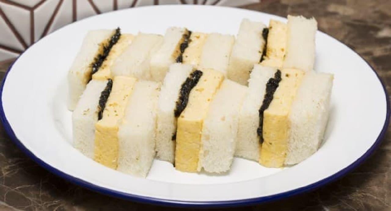デリファシャス「鮨屋が作る出汁巻き卵サンド」