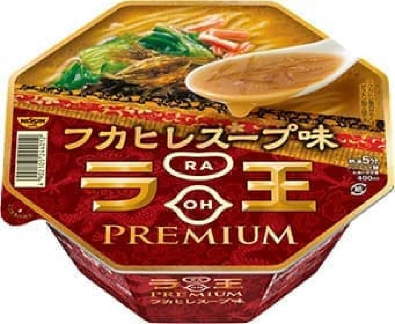 日清ラ王PREMIUM フカヒレスープ味