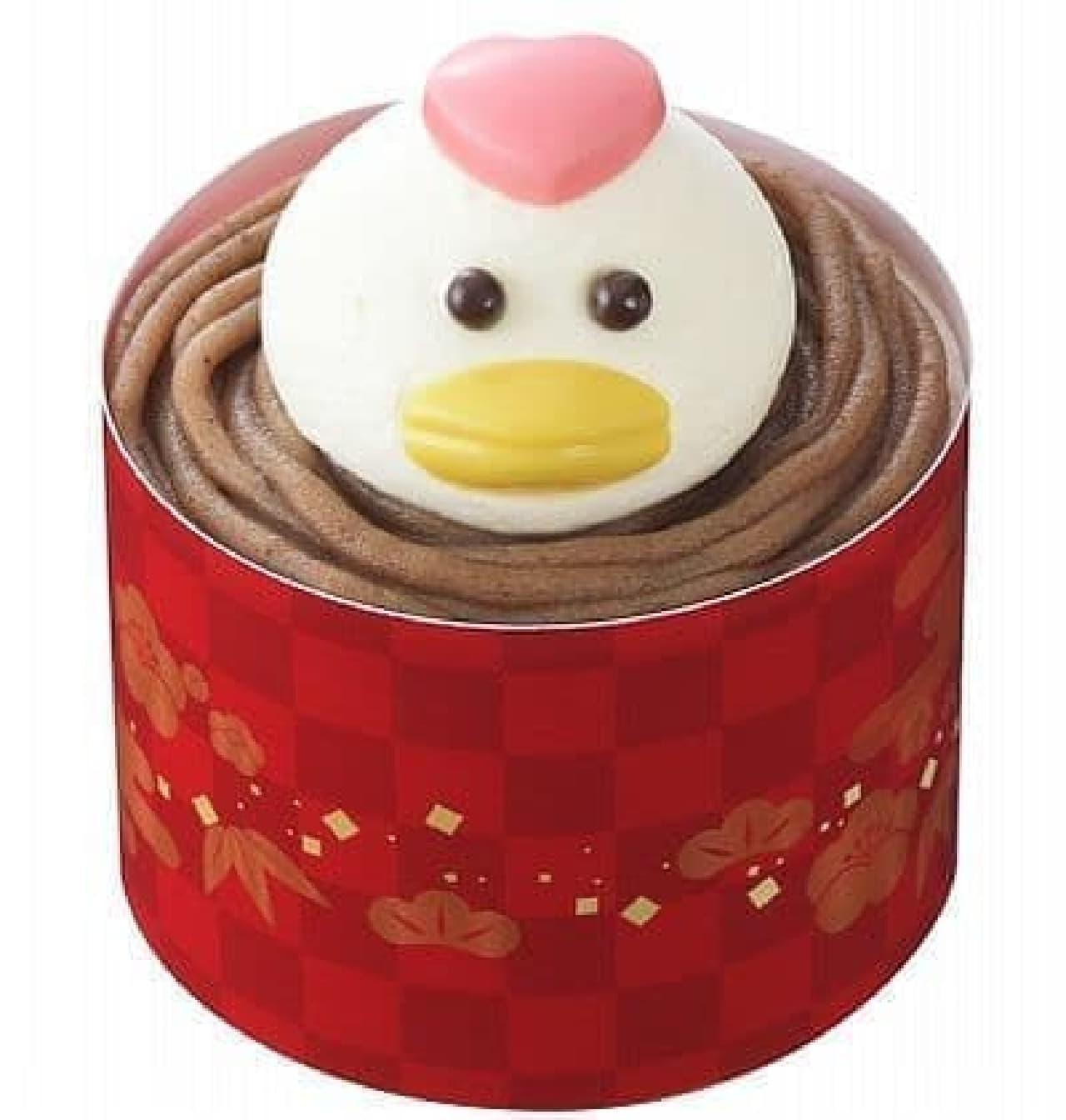 銀座コージーコーナー「酉年のケーキ」