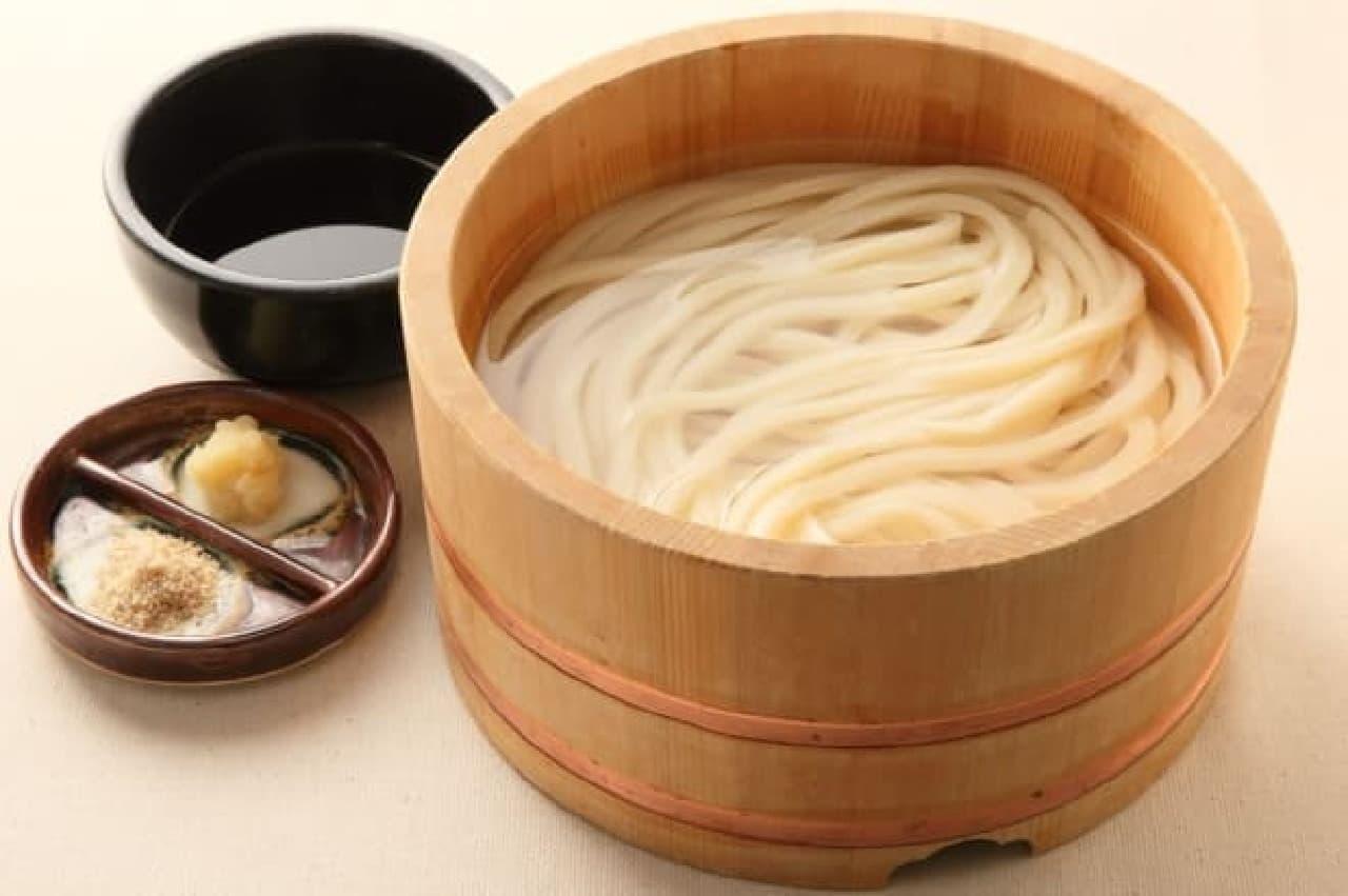 丸亀製麺「釜揚げうどん」