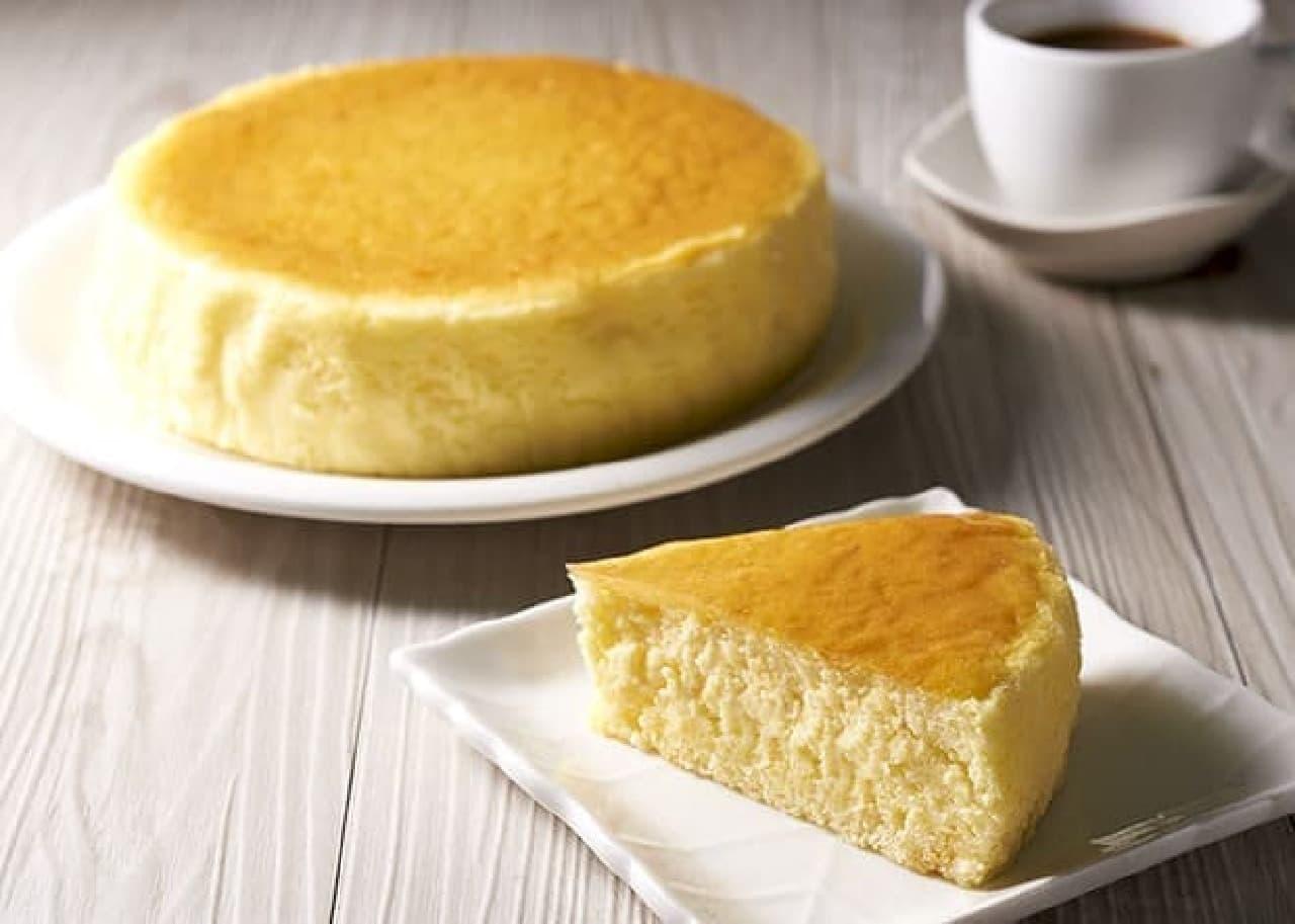 セブン「HAPPY★スフレチーズケーキ」