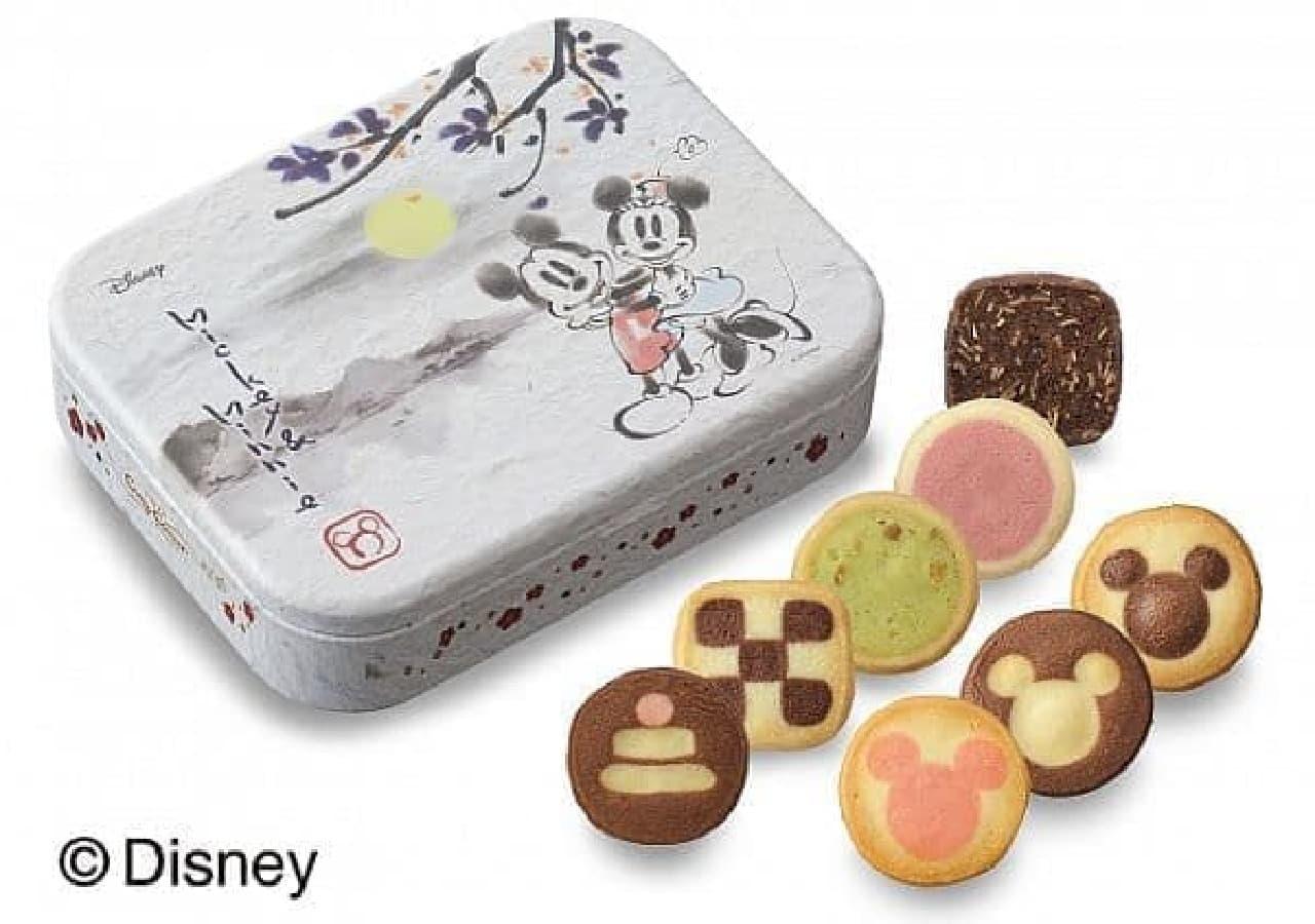 銀座コージーコーナー「<ディズニー>新春クッキー缶」