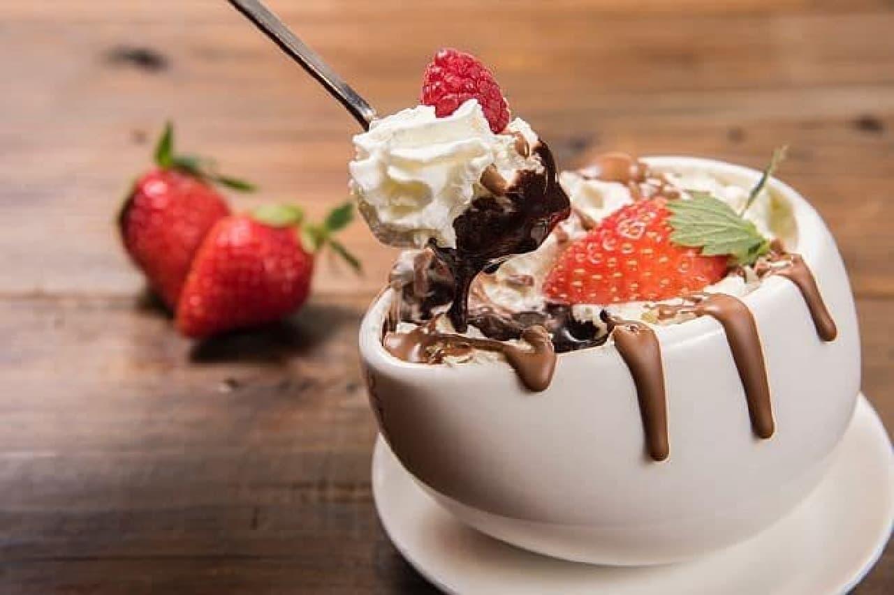 マックスブレナー チョコレートバー「マックス チョコレートムース」