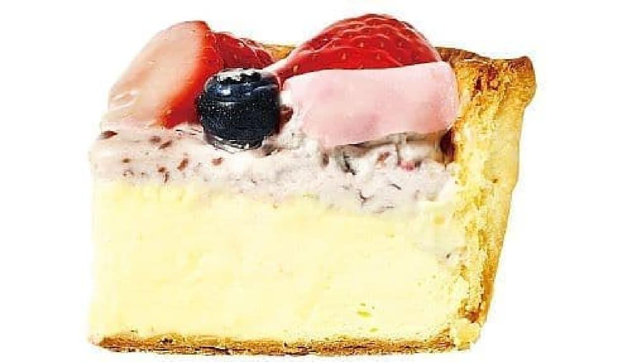パブロ「いちご大福チーズタルト」