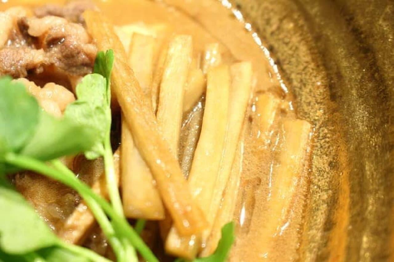 麺屋武蔵、金乃武蔵「熊武骨」