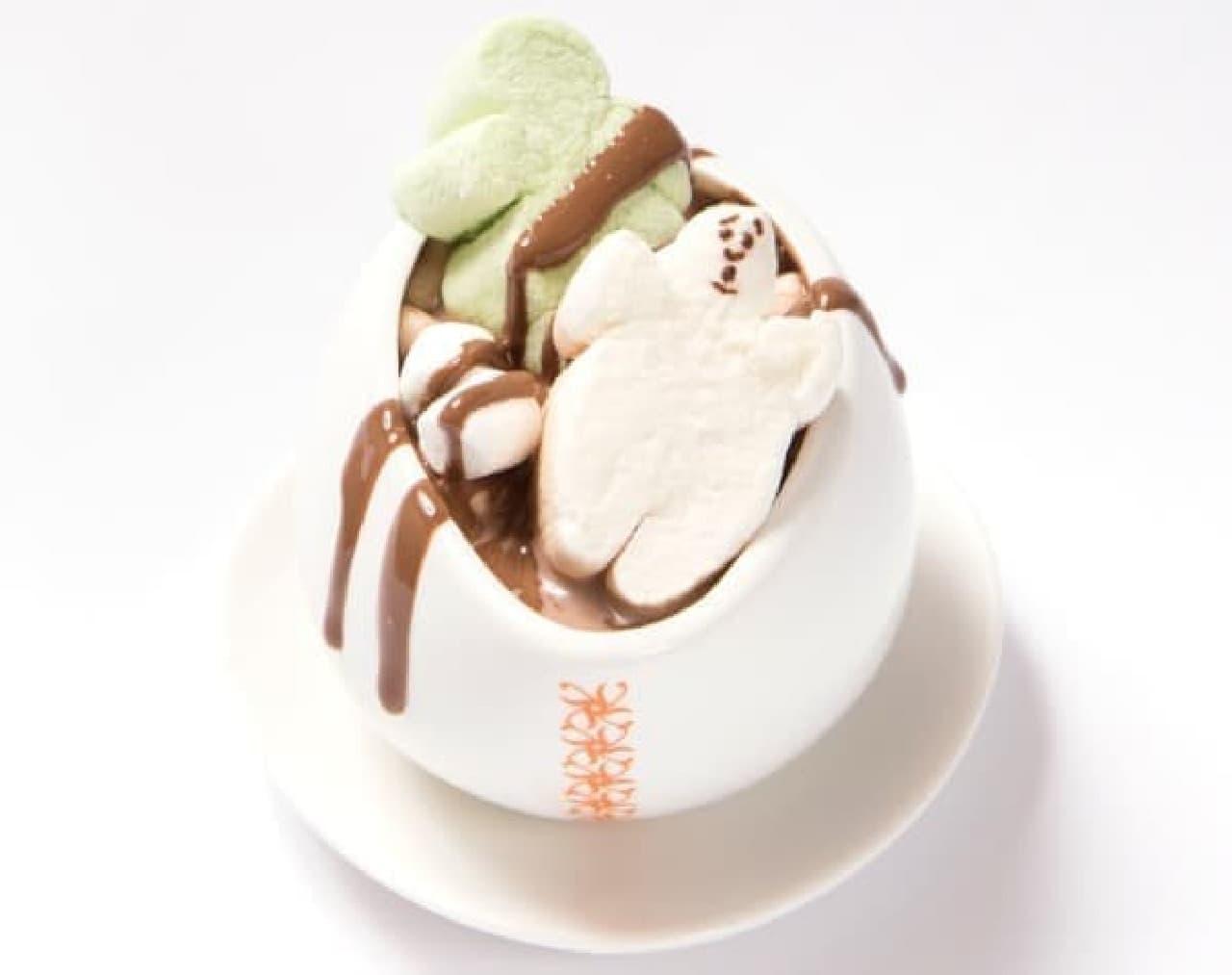 マックスブレナー「ゴースト ホットチョコレート」